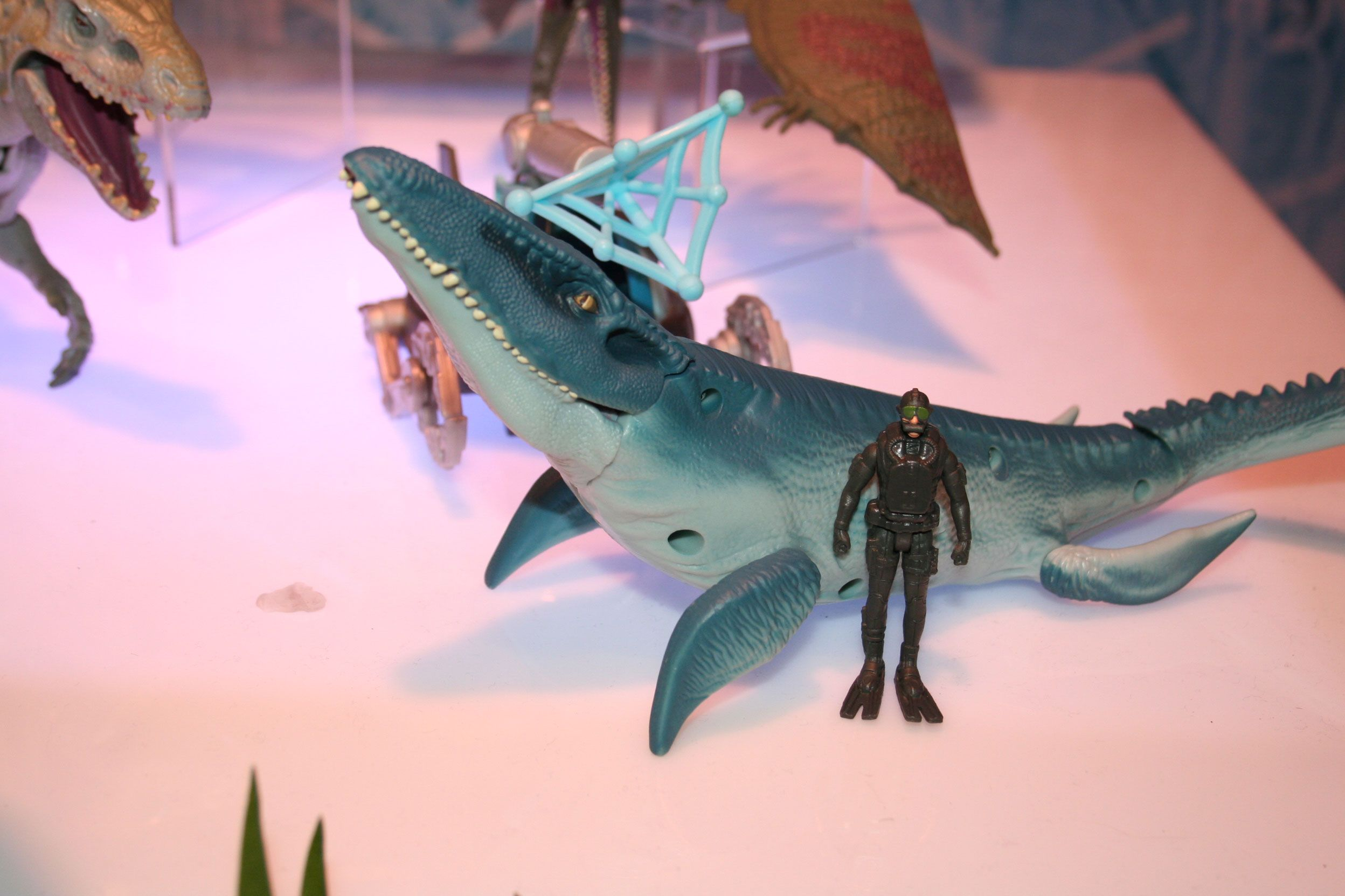 Jurassic World Toy Images from Hasbro at Toy Fair 2015