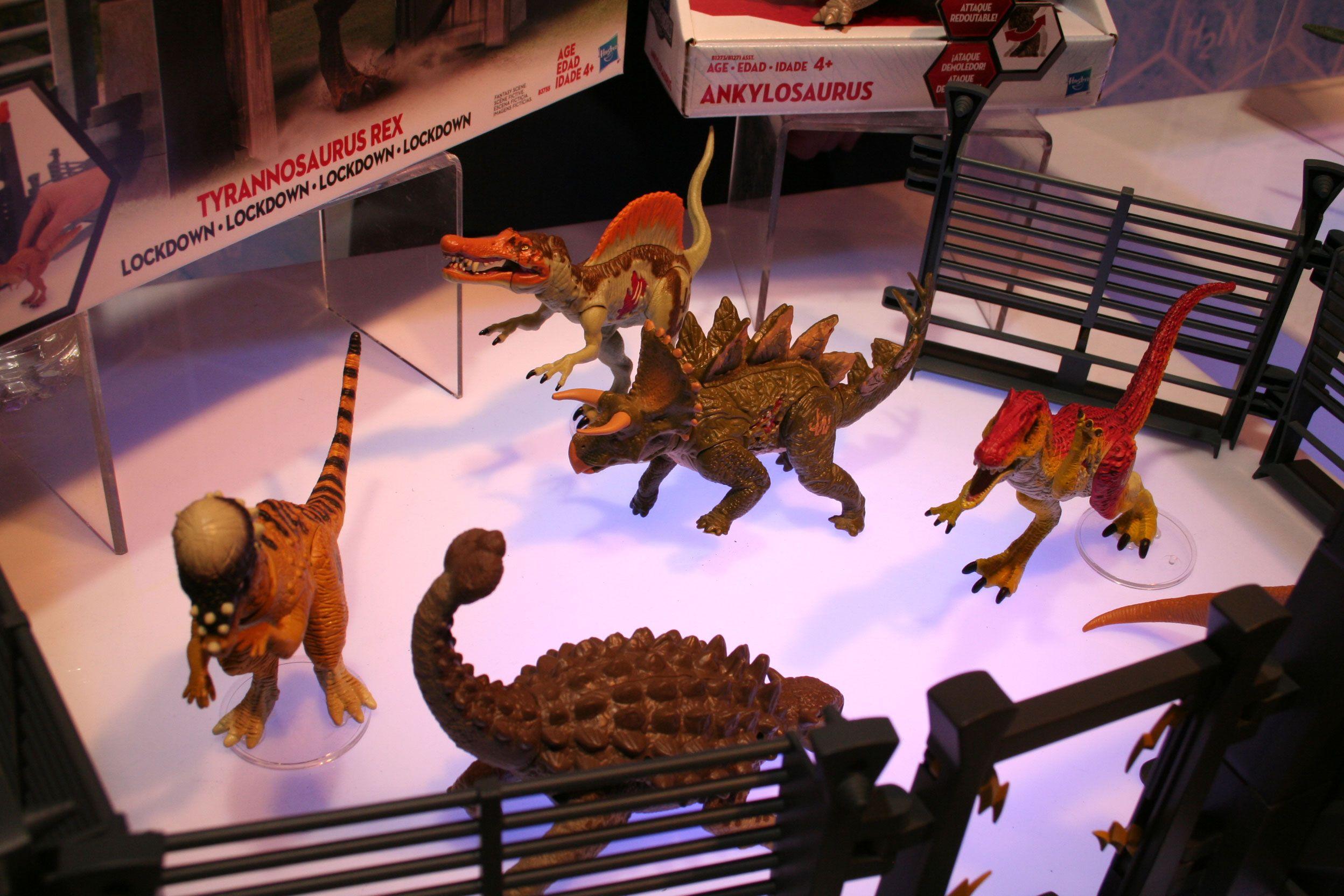Jurassic World Primal ataque Sonido Strike Irritator figura 2020 Mattel Nuevo