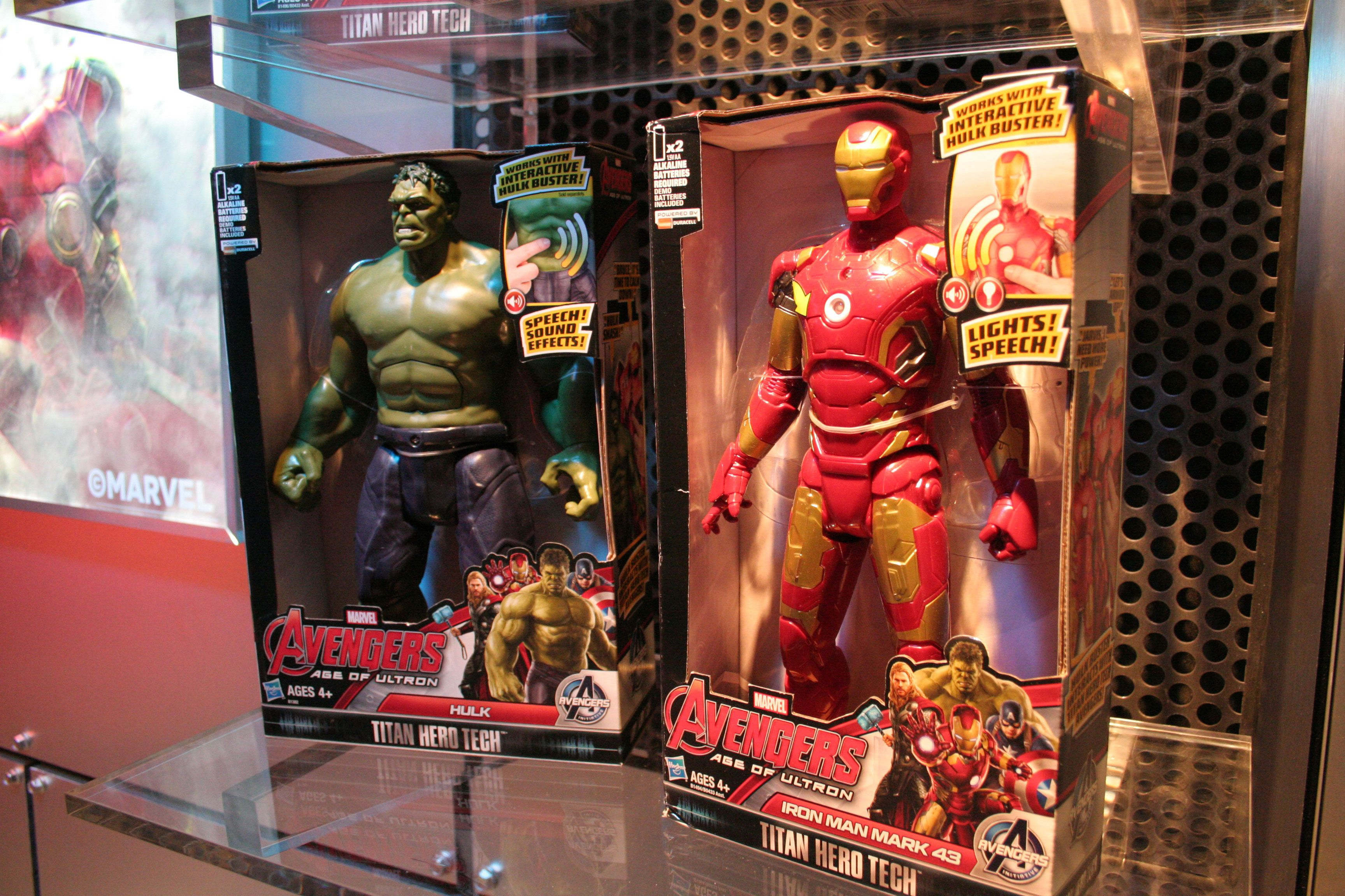 Who Makes Infinity >> Avengers: Age of Ultron and Ant-Man Toys Revealed Hasbro ...