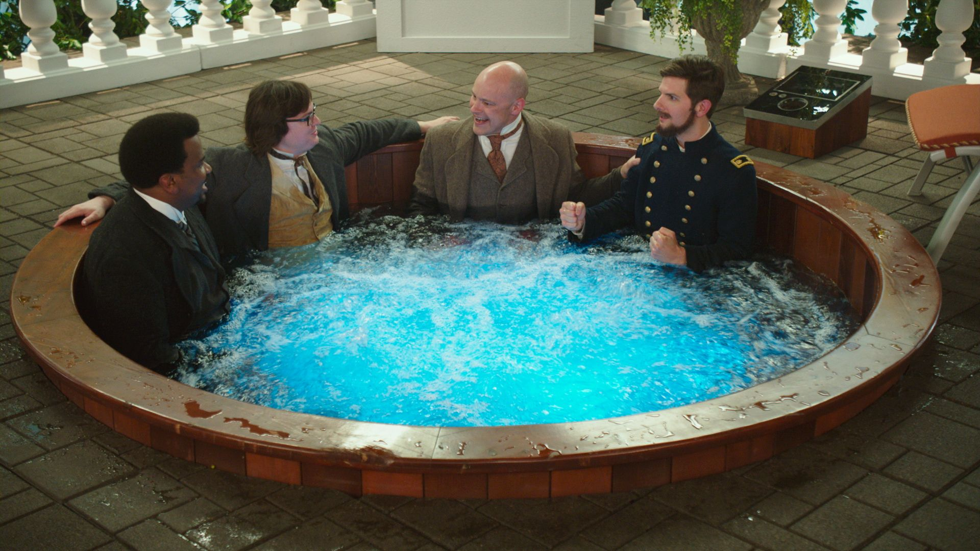 New hot tub time machine 2 images go to the year 2025 - Jacuzzi whirlpool ...