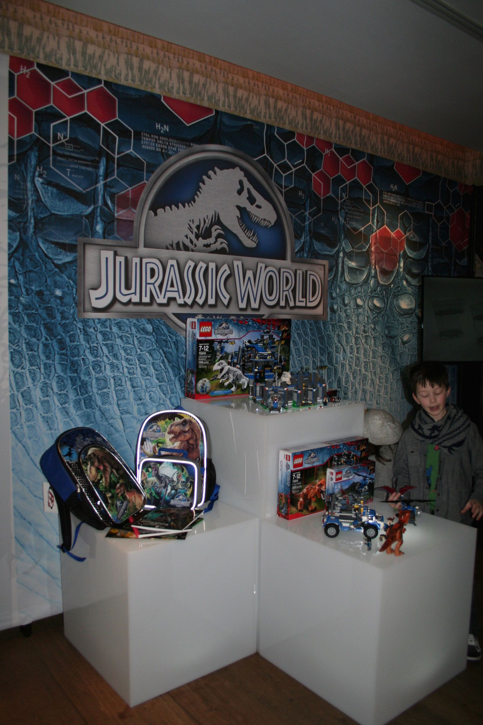 Jurassic World Merchandise Images From Universal At Toy Fair 2015