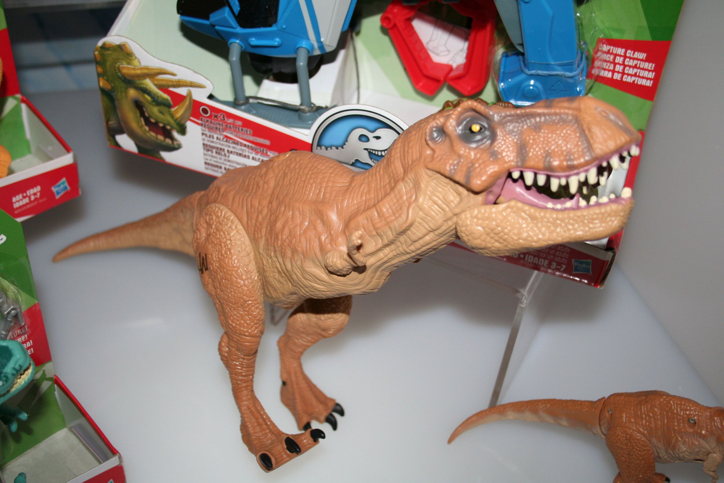 Jurassic World Merchandise Images from Universal at Toy Fair