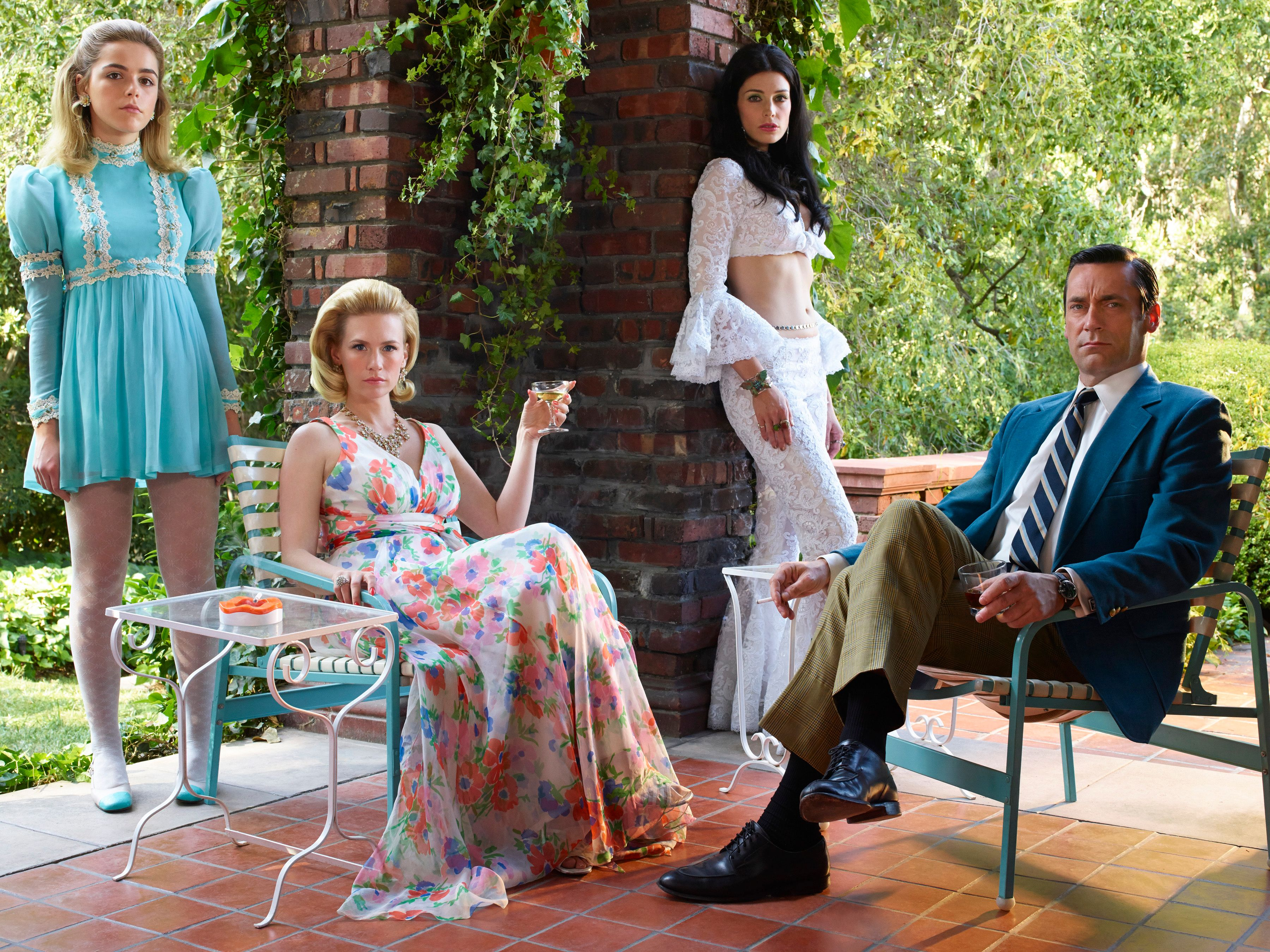 mad men u0027s final season cast images are full of sports coats and