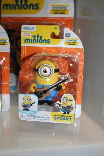 Minion Stuart Figure Minions-action-figures-guitar