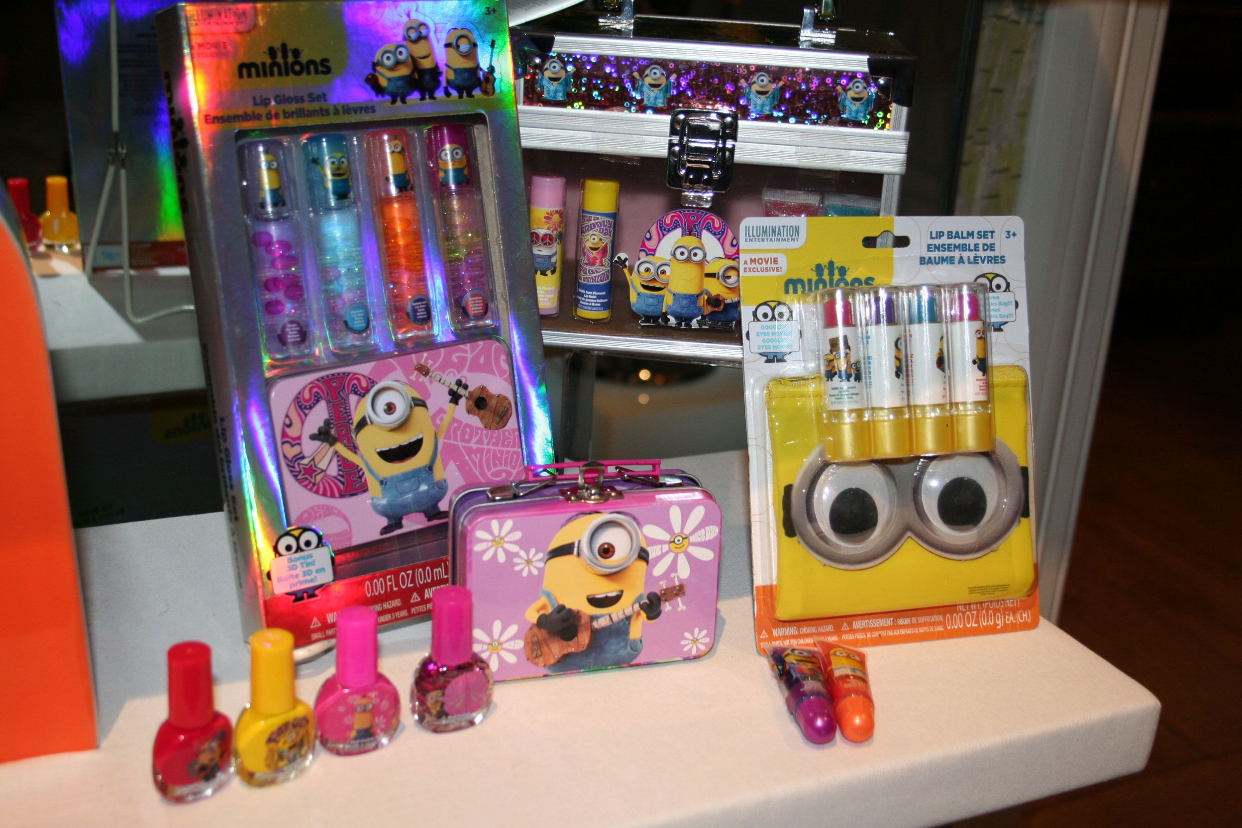 Minion Toys And Games : Minions toys games apparel from universal