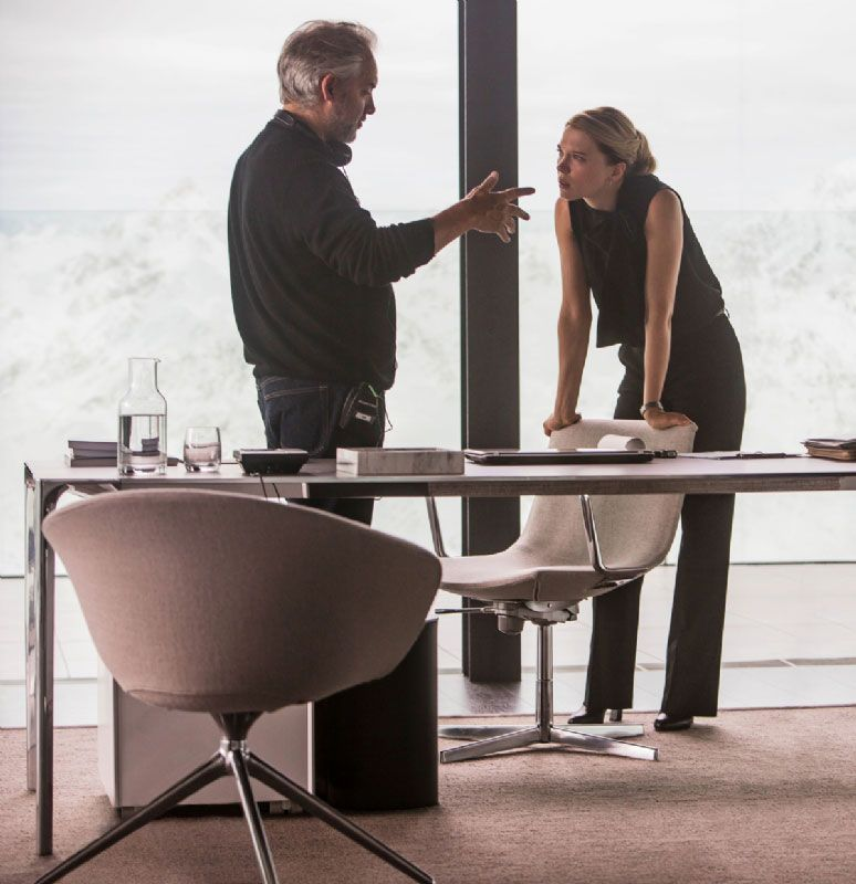 Spectre Images Featuring Dave Bautista and Lea Seydoux ... Monica Bellucci Bond
