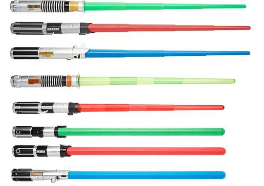 Star Wars Lightsabers Toys : Star wars lightsaber bladebuilders toys allows kids to mix