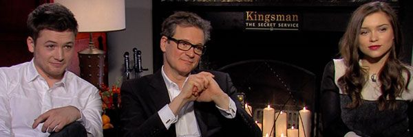 Exclusive Colin Firth Taron Egerton And Sophie Cookson: 'Kingsman: The Secret Service' Interview: Taron Egerton