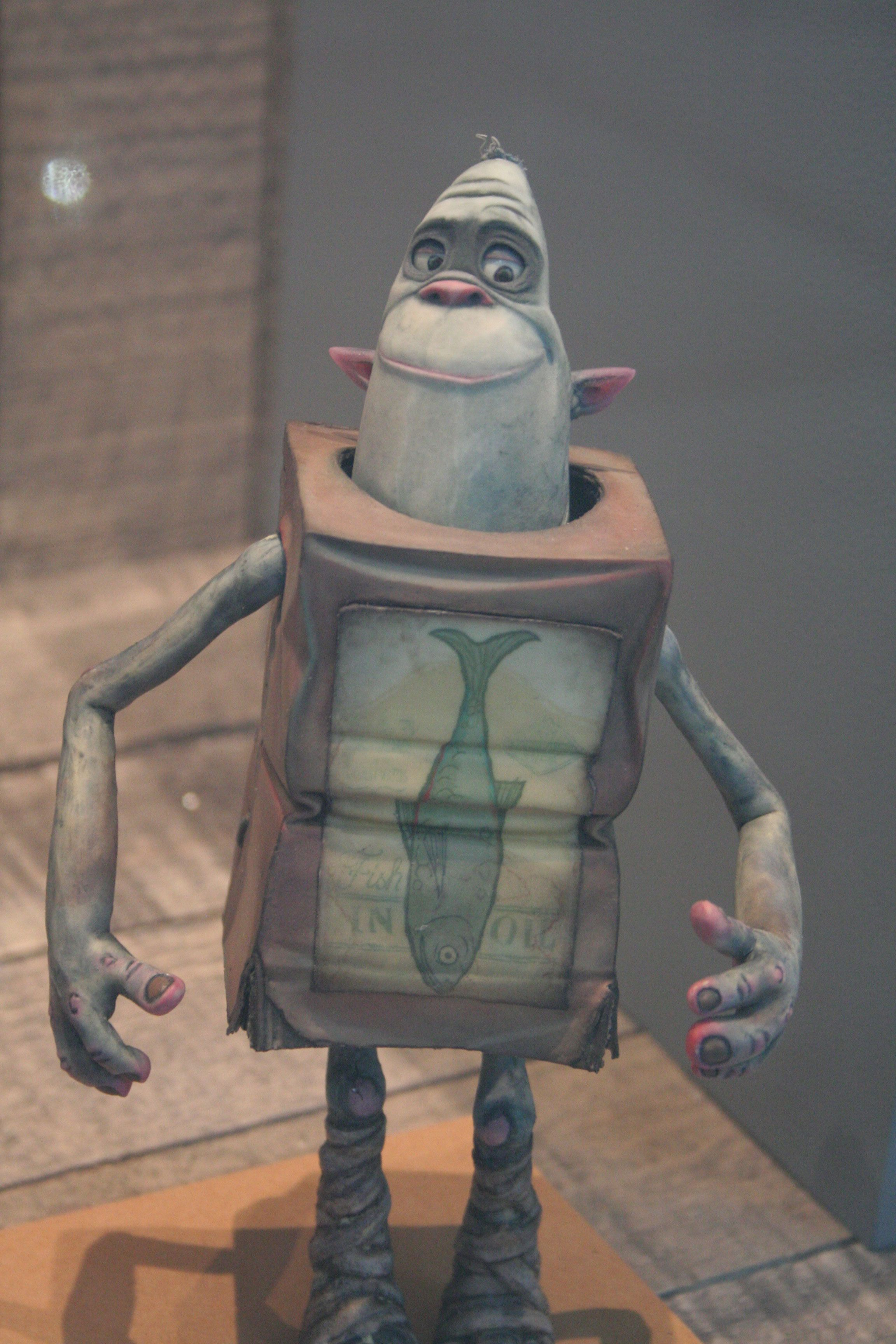 the art of laika auction images featuring the boxtrolls