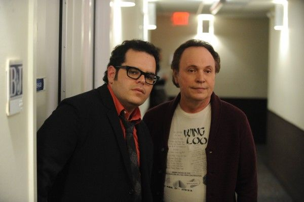 THE COMEDIANS Josh Gad, Billy Crystal. CR: Ray Mickshaw/FX