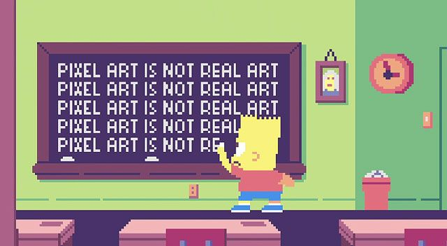Watch The Simpsons Pixel Art Couch Gag That Will Open