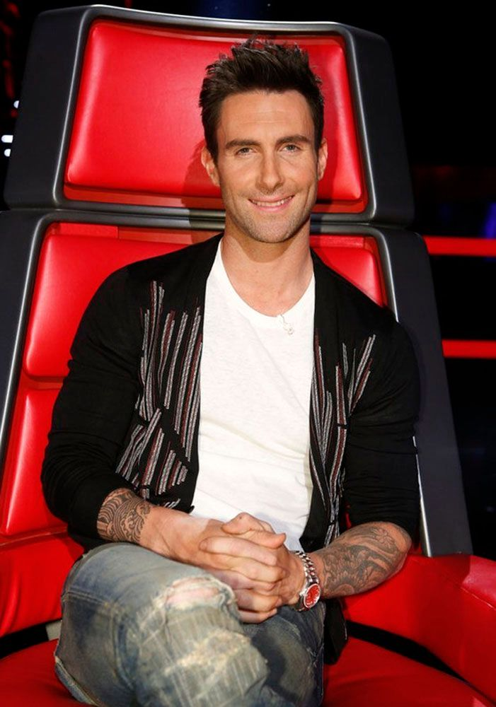 The Voice Within The Cards: The Voice Interview With Christina Aguilera, Adam Levine
