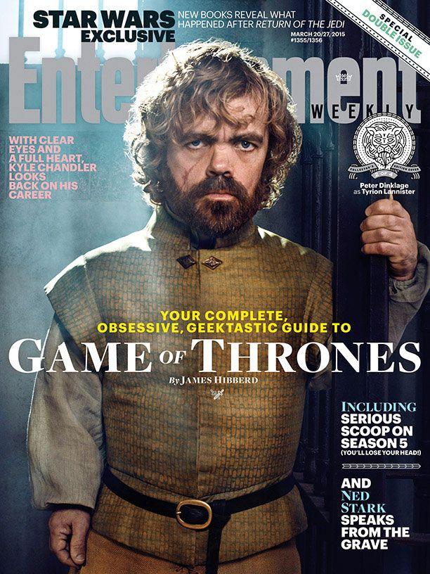 Game Of Thrones Season 5 Ew Covers Reveal Arya S New Look