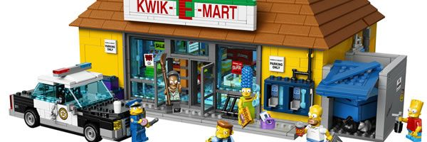 LEGO Simpsons Kwik-E-Mart Images Show off Donuts and