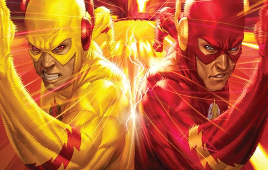 Flash Vs Reverse Flash Wallpaper: The Flash: An Introduction To Reverse Flash And His Comic
