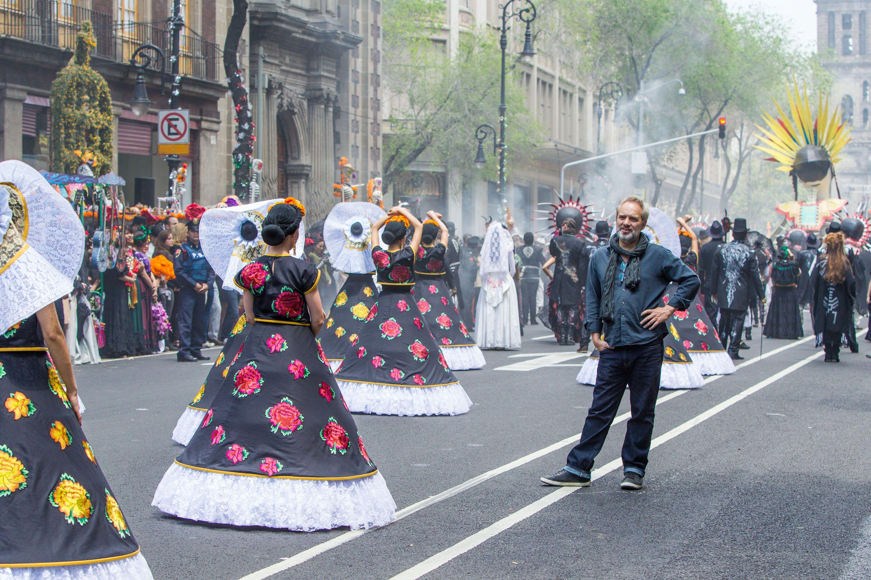 Spectre Images of Daniel Craig on the Mexico City Set ...