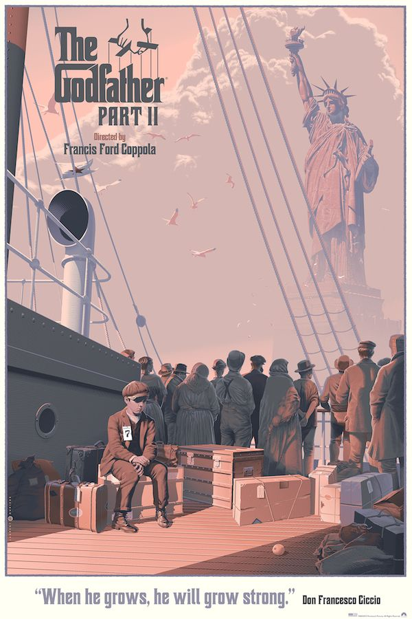 The Godfather Part 2' Posters by Laurent Durieux and Odd