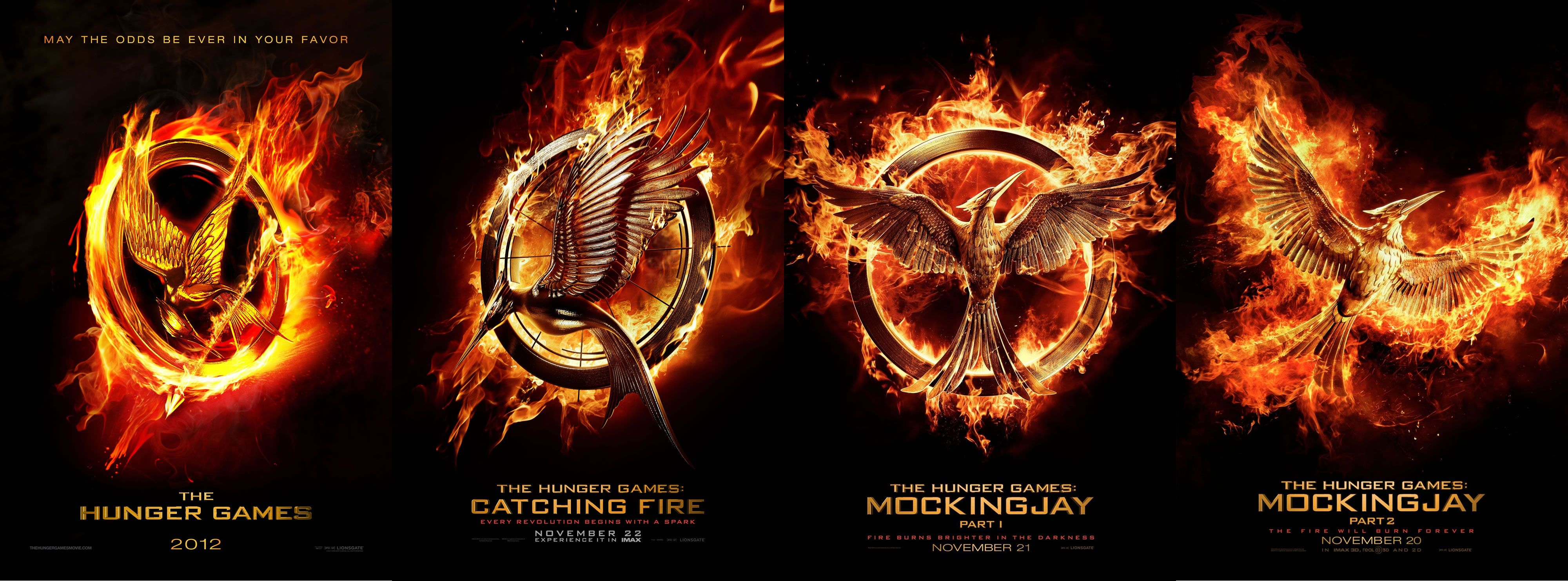 the hunger games 1 and 2
