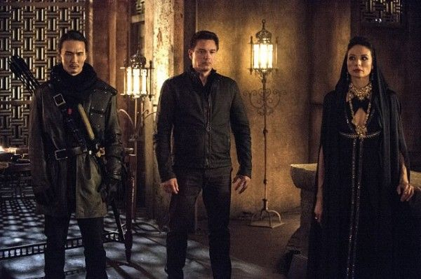 arrow-john-barrowman-francoise-yip