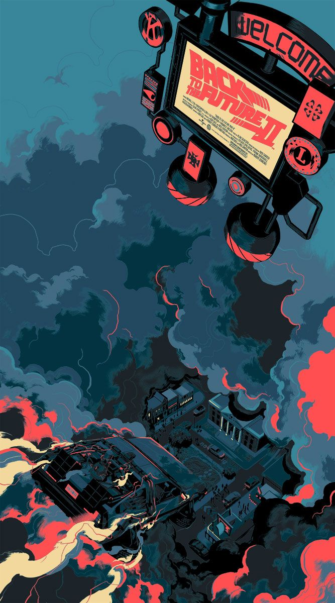 Mondo Unveils Matt Taylor's Back to the Future Part II ...