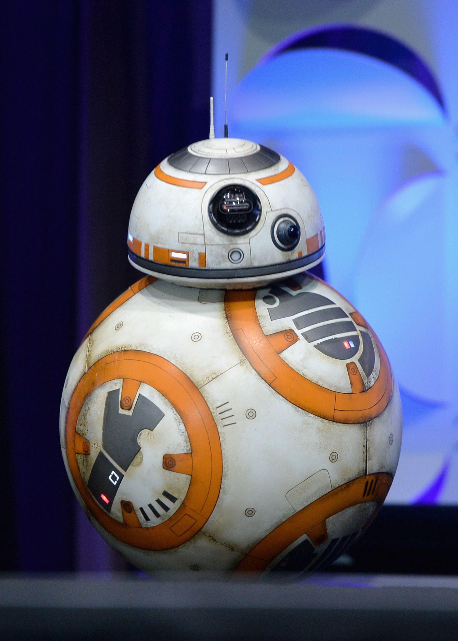 star wars 7 bb 8 making the lovable droid collider. Black Bedroom Furniture Sets. Home Design Ideas