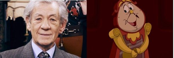 Beauty And The Beast Ian Mckellen Cogsworth