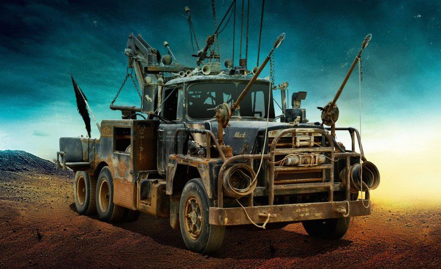 Mad Max Fury Road Images Reveal Gigahorse War Rig And