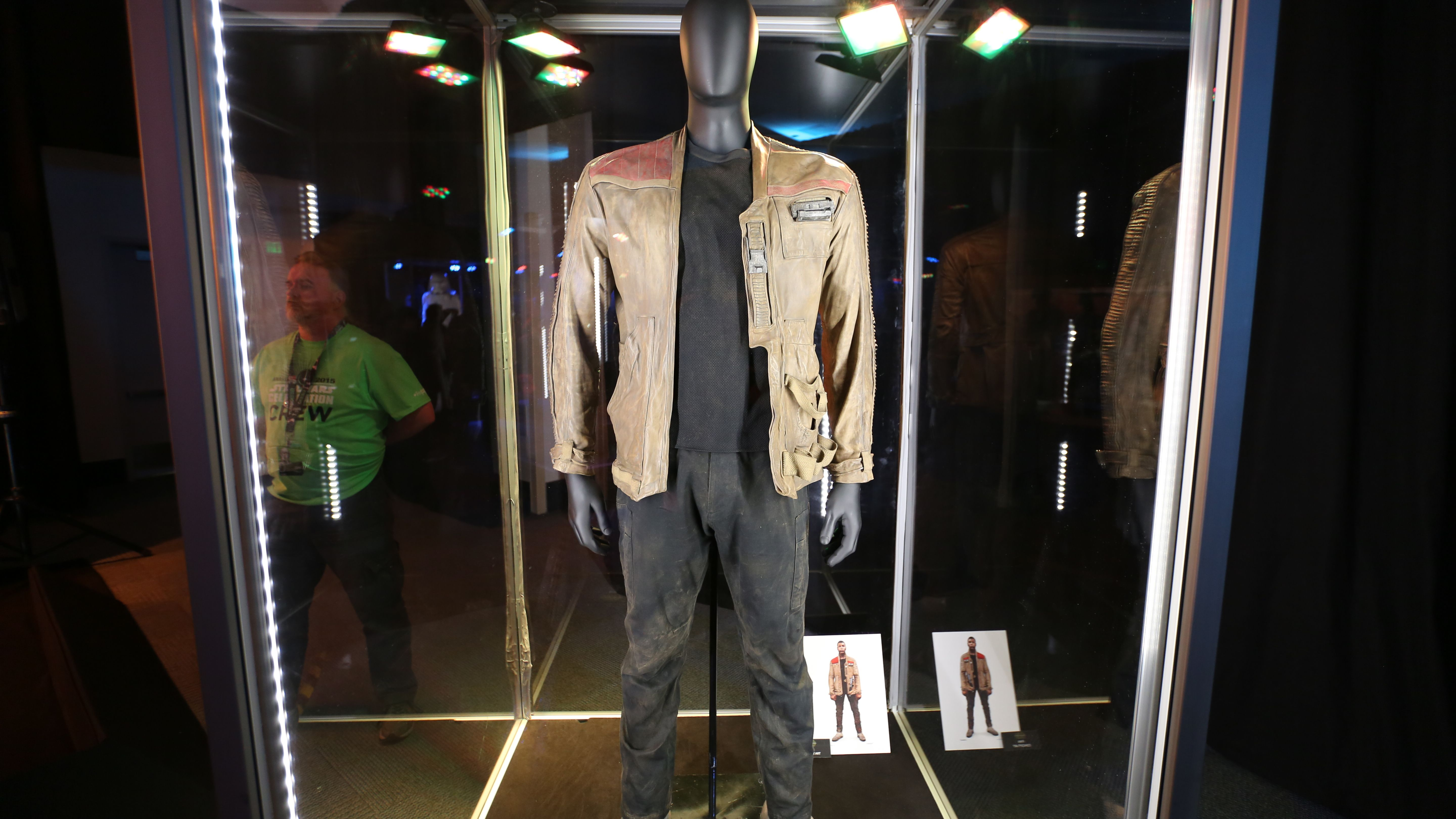 Star Wars 7 Costumes Props And Klyo Ren S Lightsaber In