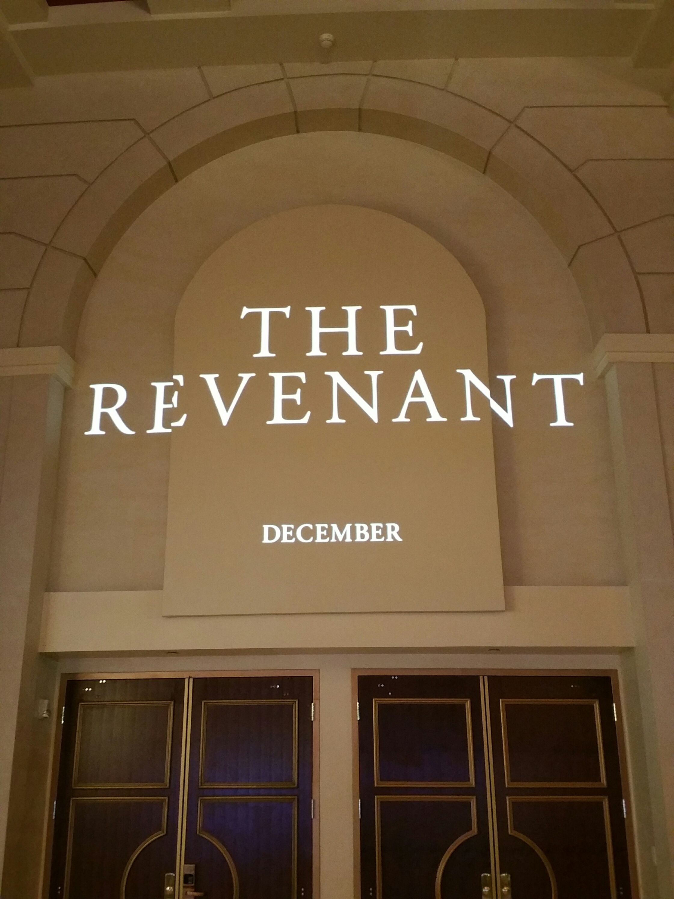 revenant box office