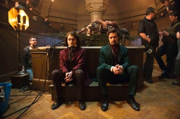 victor-frankenstein-daniel-radcliffe-james-mcavoy-set-photo