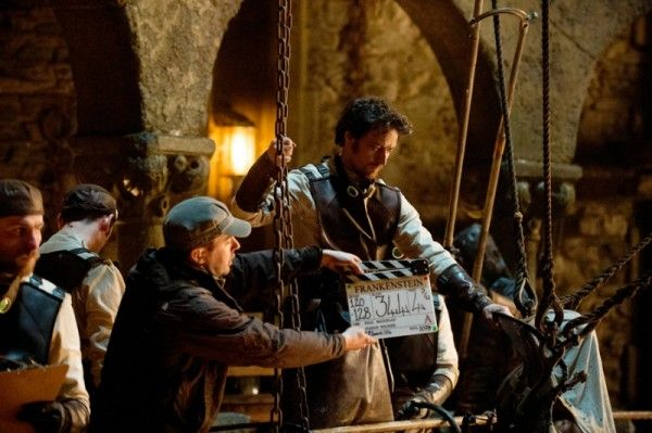 victor-frankenstein-james-mcavoy-set-photo