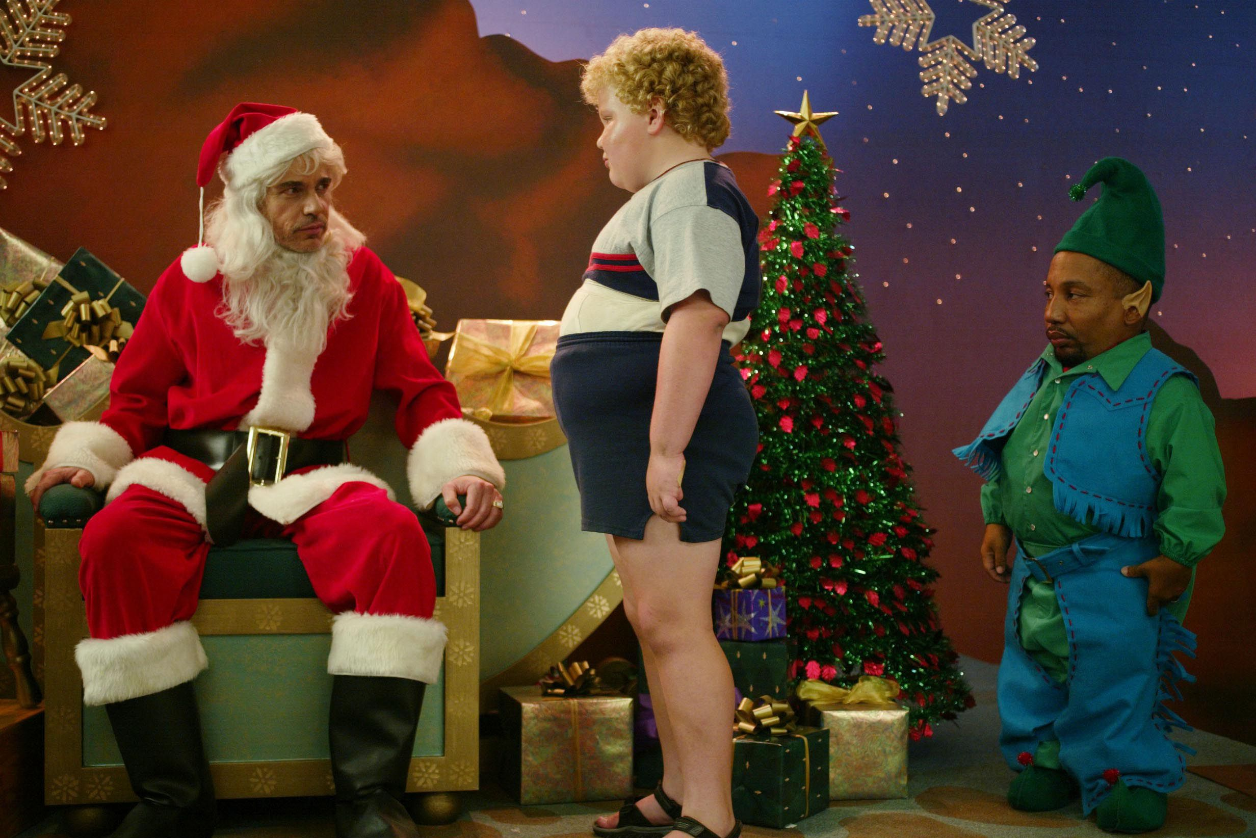 Bad Santa 2 First Images Posters Reveal Billy Bob Thornton Collider