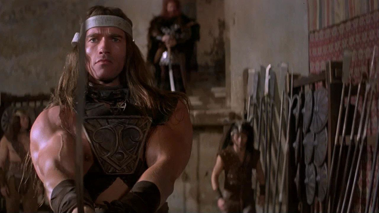 conan the barbarian arnold schwarzenegger - 'Conan the Barbarian' TELEVISION Series Could Be What Is Best in Life