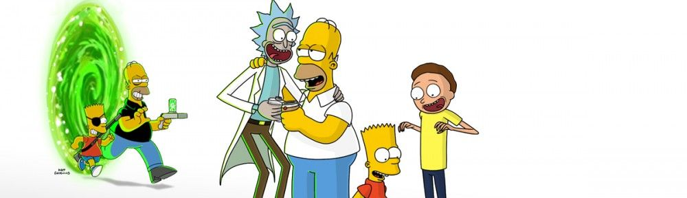 rick-and-morty-meet-the-simpsons