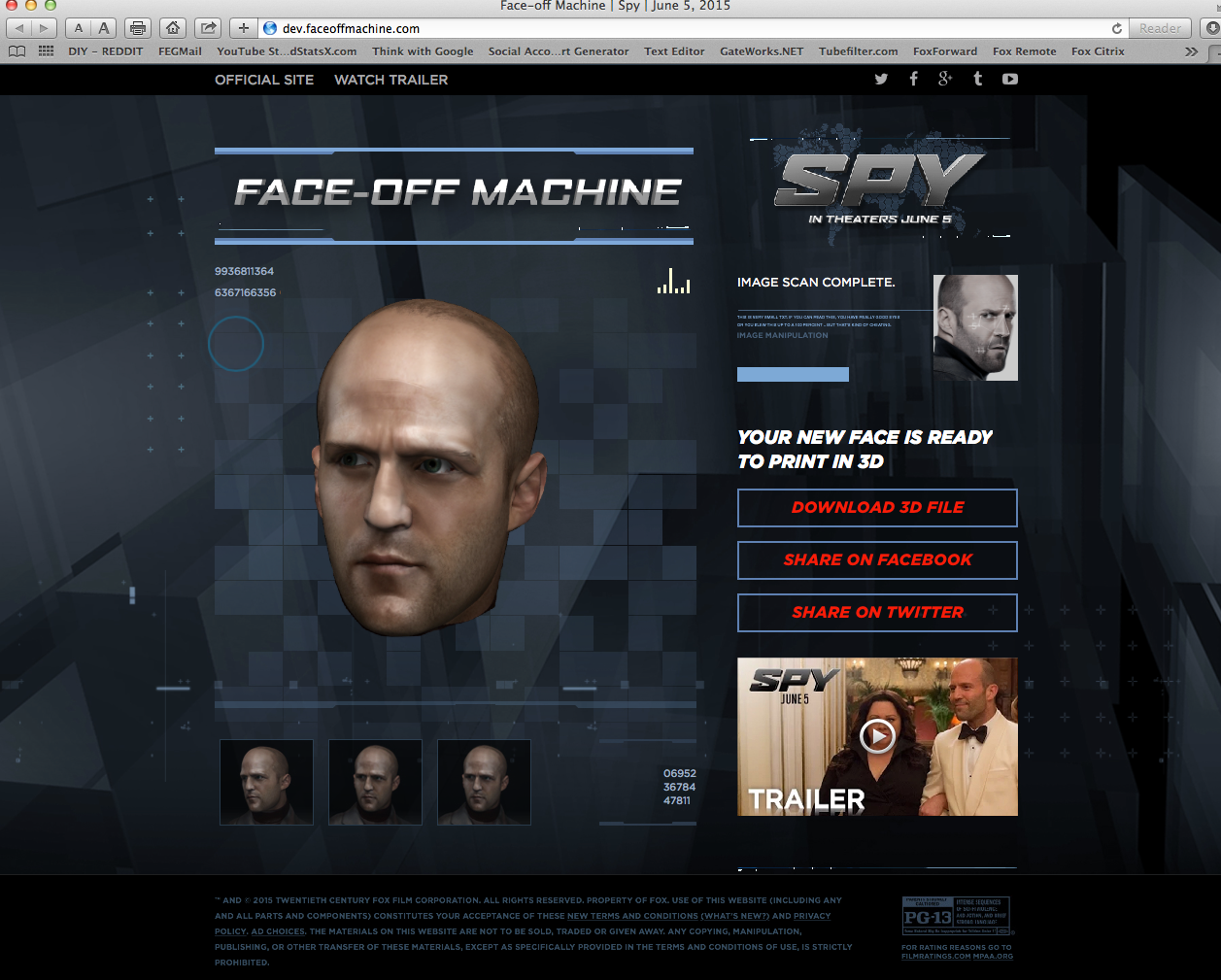 Enter Our Giveaway and Win Jason Statham's Face for Spy