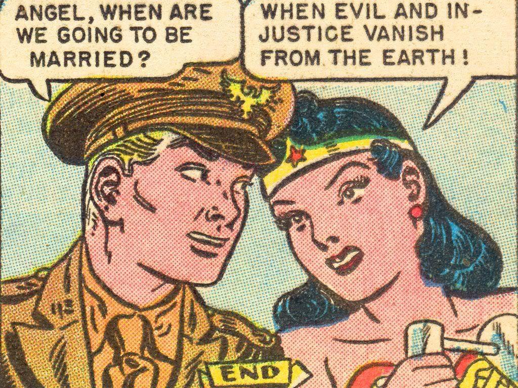 Wonder Woman Comics Steve Trevor