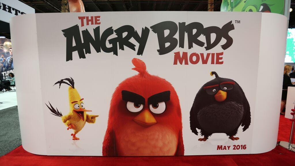 «Персонажи Angry Birds В Кино» — 2006