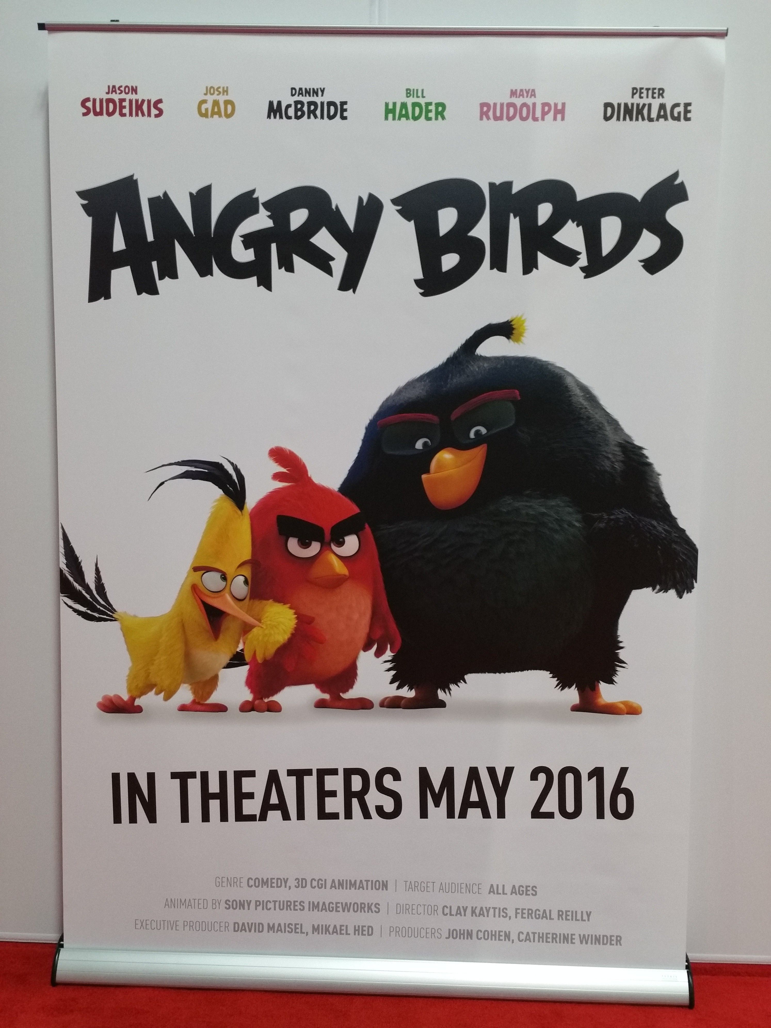 poster pelicula angry birds