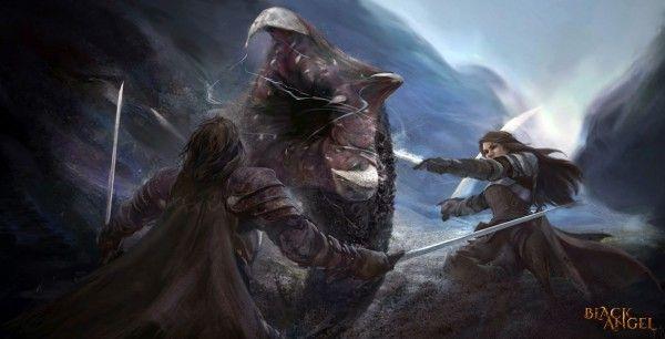 black-angel-concept-art-teuton-worm-fight