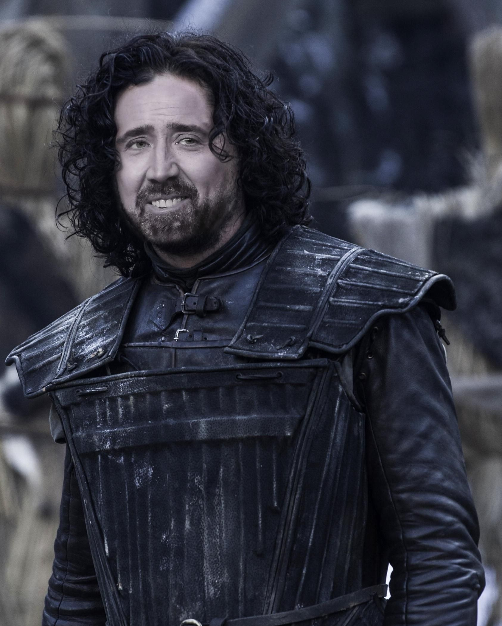 Game Of Thrones See Nicolas Cage As Every Character