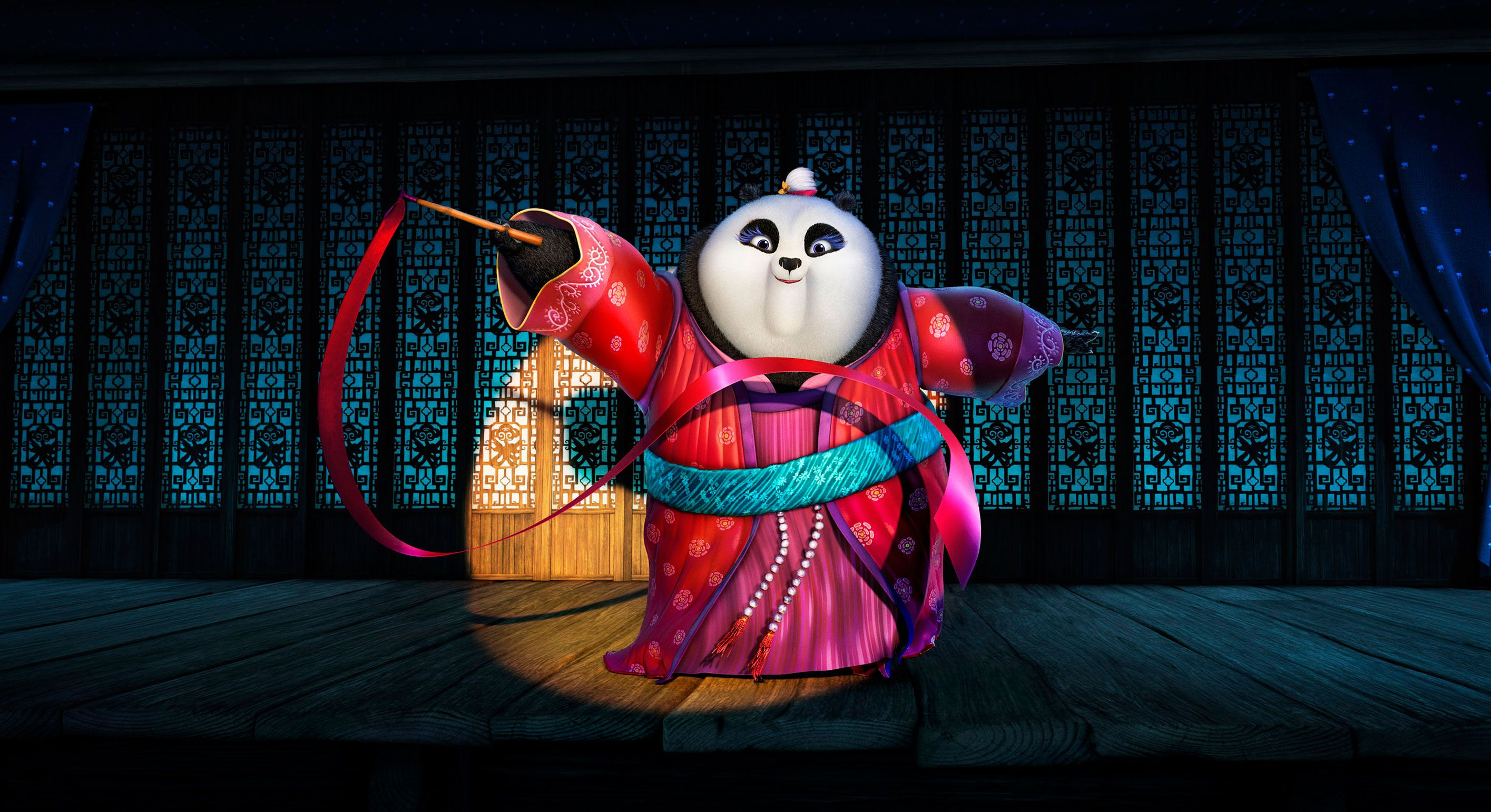 Kung Fu Panda 3 Images Reveal Po's Family Reunion   Collider