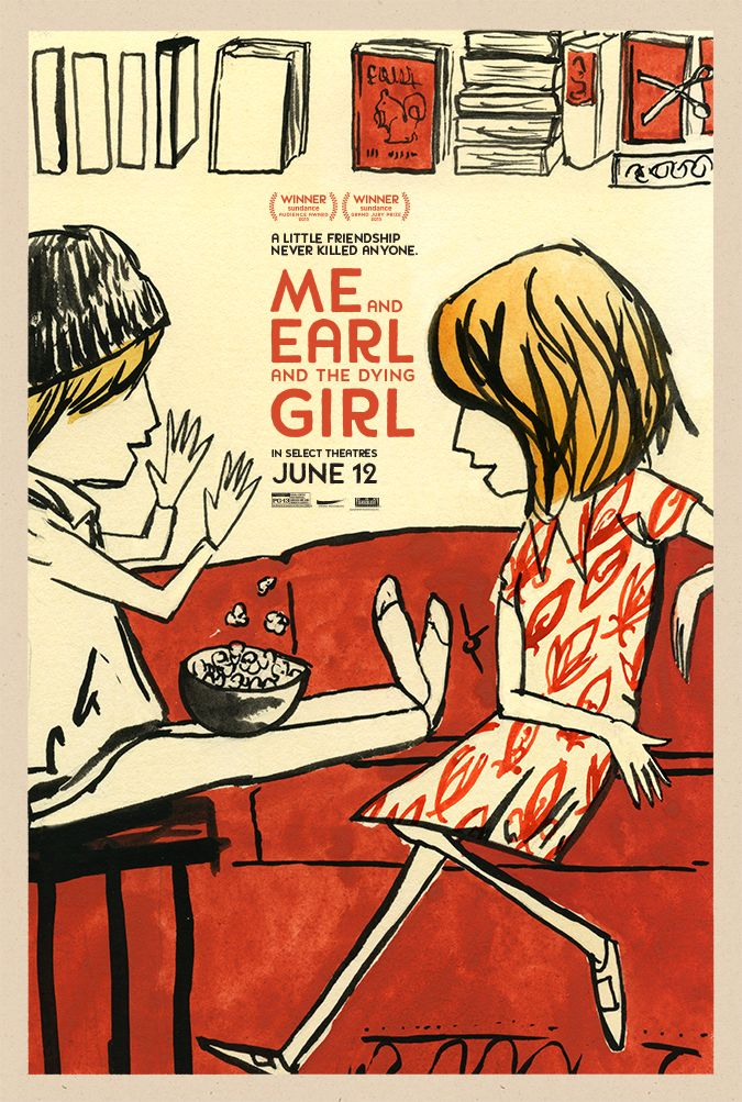 Risultati immagini per me earl and the dying girl poster