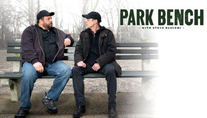 park bench mark boone junior robs steve buscemi collider