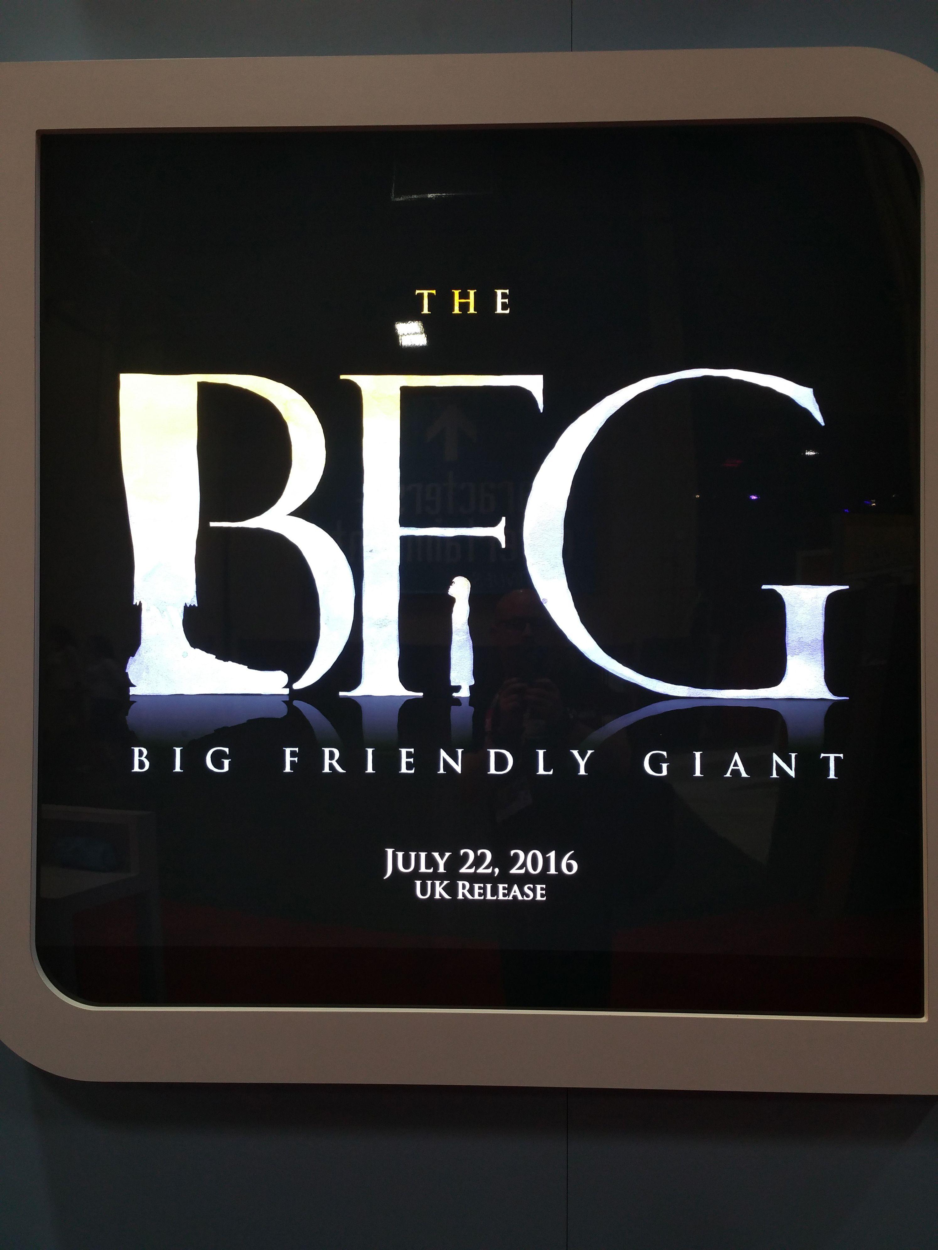 Il GGG  il logo ufficiale del film di Steven Spielberg e3f8a132448