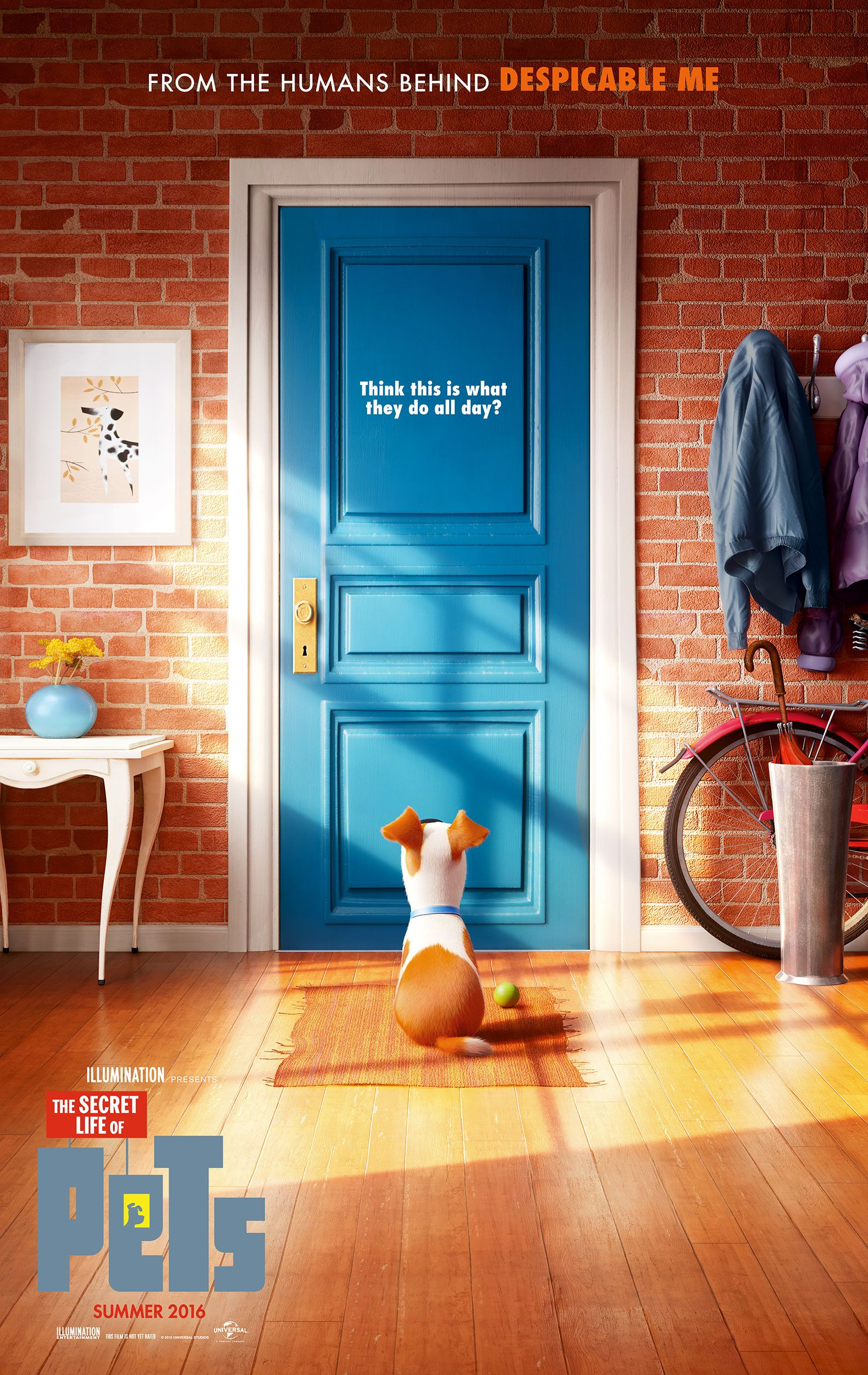(2D) The Secret Life of Pets