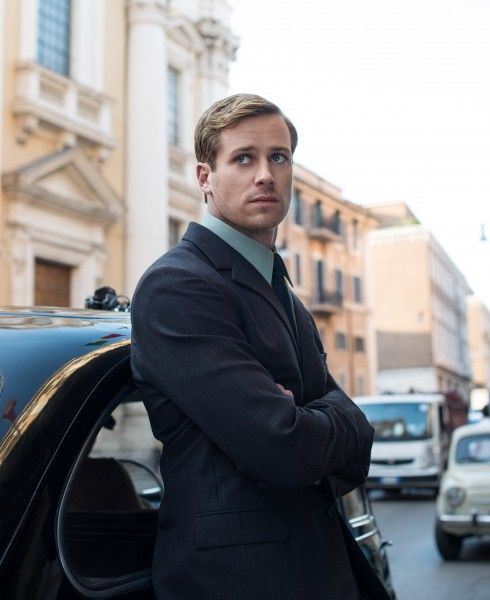 Armie Hammer Codename Uncle