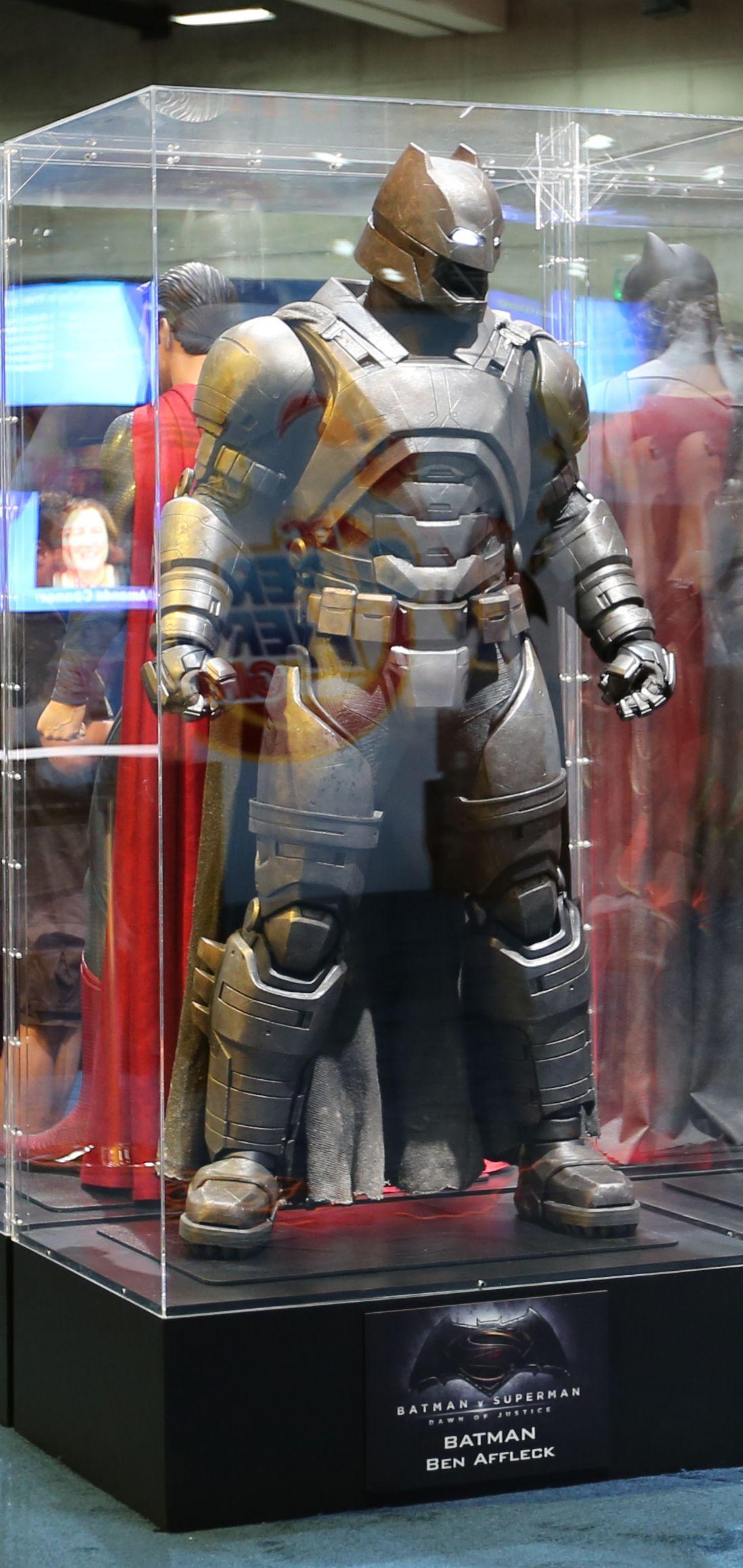 Batman V Superman Armor Comic Con Image