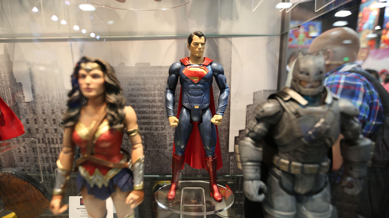 Batman Vs Superman Movie Toy Comic Con 2