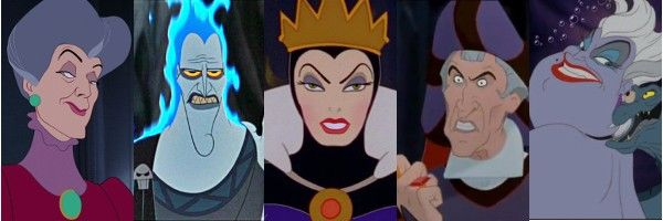 All Disney Villains List