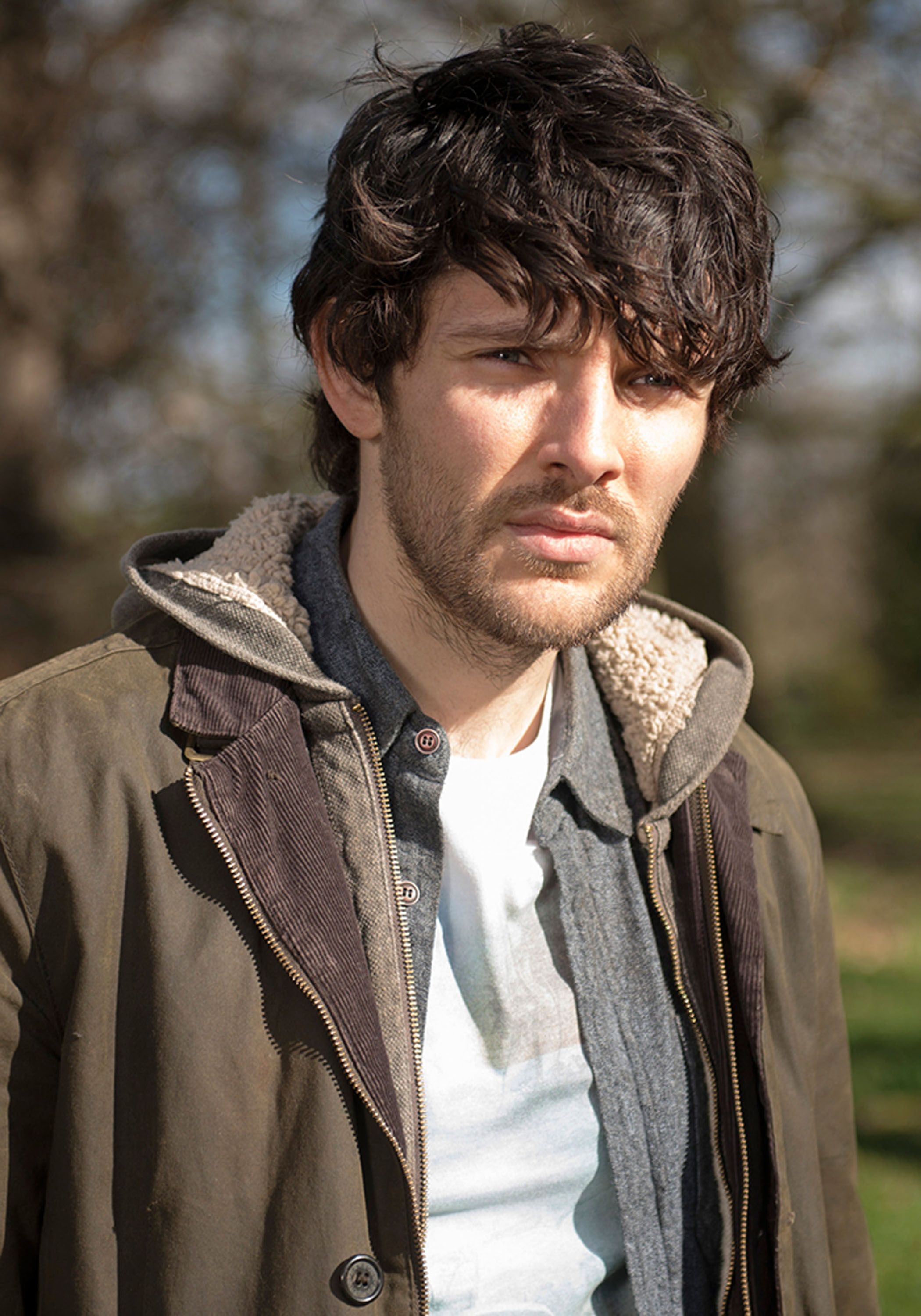 colin morgan talks humans his character and synths collider